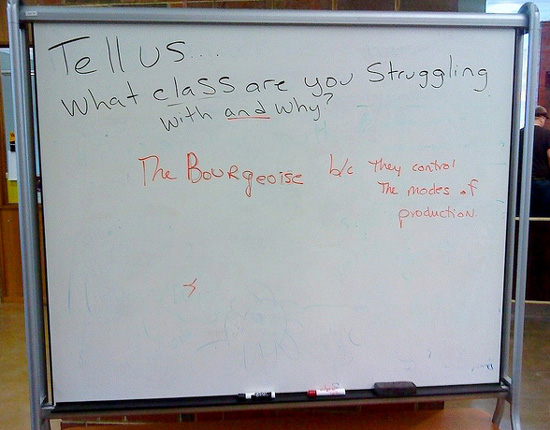 What class are you struggling with and why?