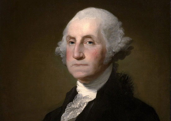 George Washington: Weak, government-loving socialist by Gilbert Stuart Williamson.