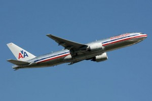 American Airlines Boeing 777-200.