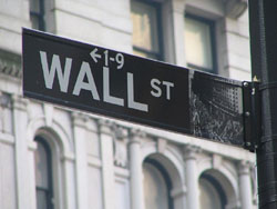 Wall Street street sign (Ramy Majouji/Creative Commons).