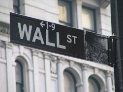 Wall Street street sign (Ramy Majouji/Creative Commons).