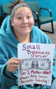 Small business owner (Coffee Party USA/Flickr).