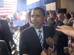 Barack Obama - Lexington Convention Center